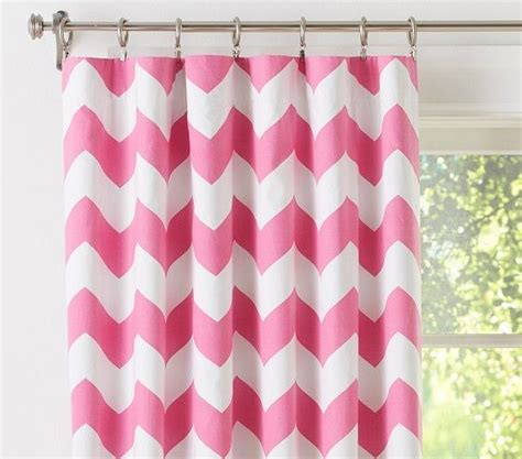 red chevron curtains 1000 ideas about baby pink curtains on pinterest pink