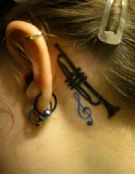 tattooed heart clarinet best 25 trumpet tattoo ideas on pinterest trumpets