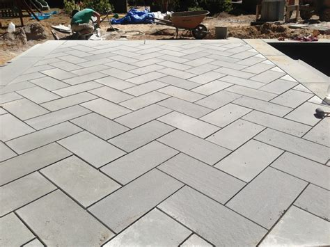 Bluestone Patio Pavers Types Of Patios Concord Stoneworks