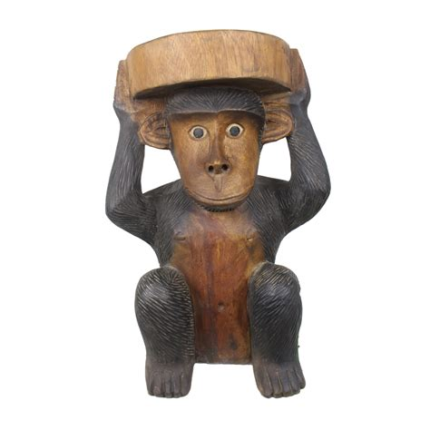 Monkey Stool by Carved Monkey Stool Taxidermy Mounts For Sale And