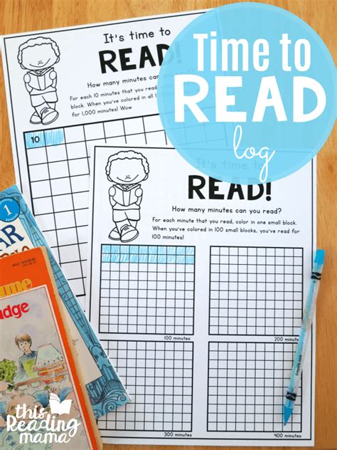 Books To Read Instead Of Mba by Time To Read Free Printable Reading Log