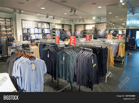 chicago il march 24 2016 inside of h m store h m