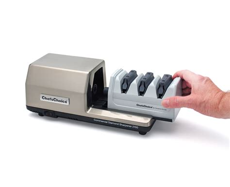 for sharpening knives chef schoice commercial electric knife sharpener model 2100