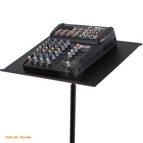ekho height adjustable universal dj laptop table projector