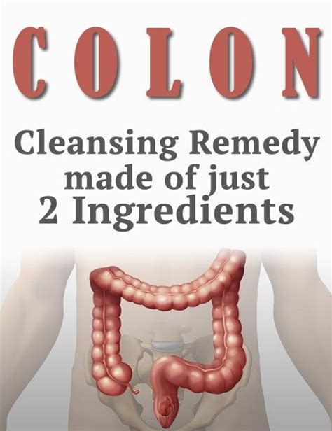Colon Detox Remedies by Colon Cleansing Remedy Made Of Just 2 Ingredients Remedies