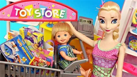 barbie toy store disney princess elsa frozen kids alex
