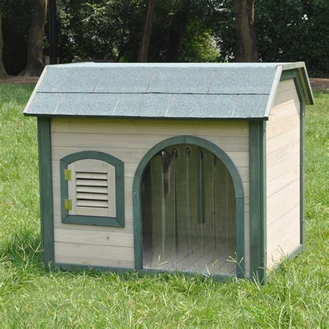 Garden Weather Proof Large Dog House Baxterboo