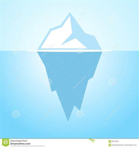 clipart iceberg iceberg vector icon stock vector illustration of hide