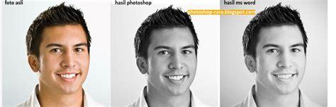 membuat foto hitam putih  photoshop tips photoshop