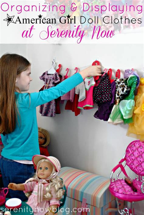 Clothes My Back 282008 2 by Serenity Now How To Store And Display American Doll