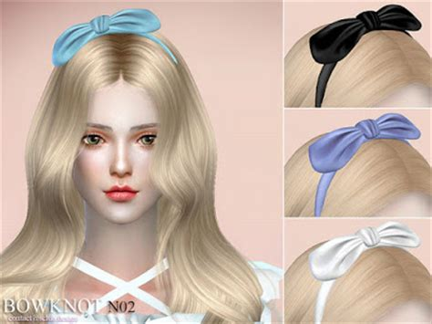 my sims 4 blog hair bow by karzalee my sims 4 blog accessory hair bow by s club