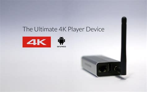 android media player device stix 3500 4k player device for digital signage