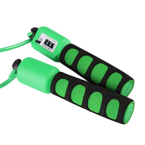 counting tool with reiz ns390 sponge handle counting skipping rope