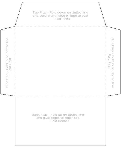 envelope template 4x6 want to try pinterest