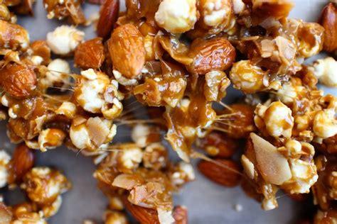 Caramel Almond coconut almond caramel corn shutterbean