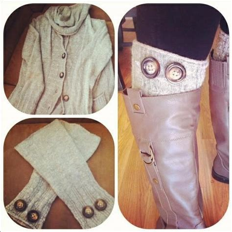 boot liners upcycle and grab an affordable scarf from goodwill diy goodwill accessories