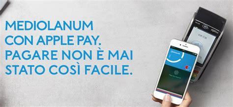 servizio clienti mediolanum apple pay ora disponibile anche per i clienti mediolanum