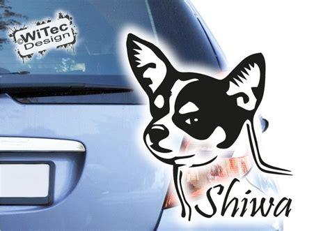 Autoaufkleber Chihuahua by Aa215 Auto Aufkleber Chihuahua Hundeaufkleber