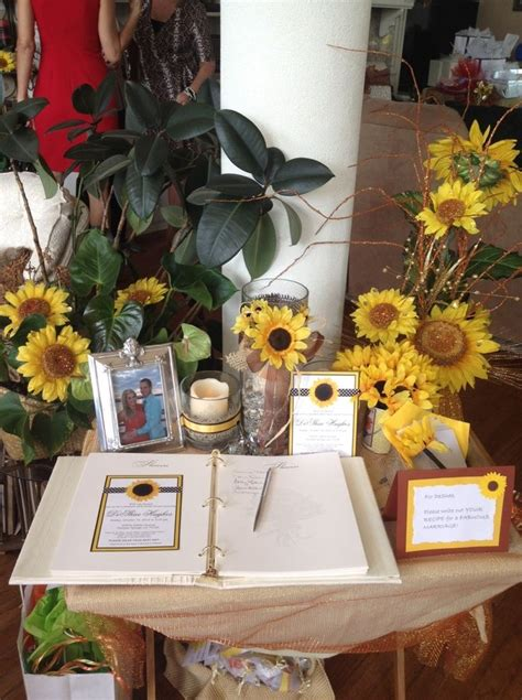 Sunflower Themed Bridal Shower Ideas by Tuscan Themed Bridal Shower Ideas For