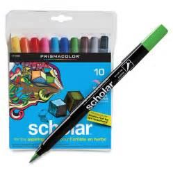 prisma color markers prismacolor scholar brush tip markers