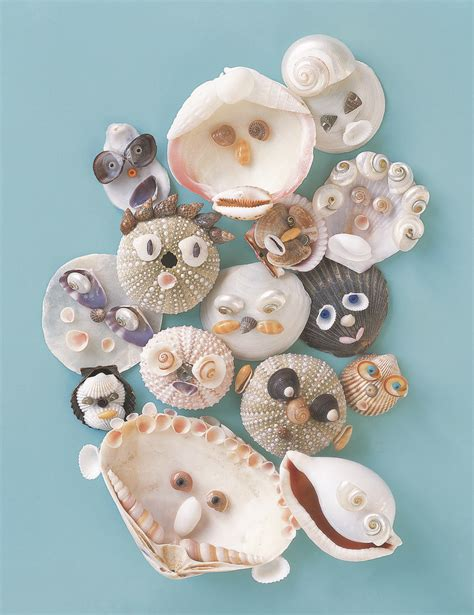 crafts with seashells for seashell craft diy seashell critters