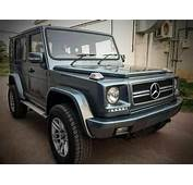 This Modified Force Gurkha Turned Into A Mercedes Benz G
