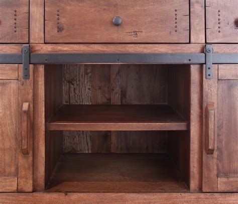 barn door kitchen parota wood barn door kitchen island