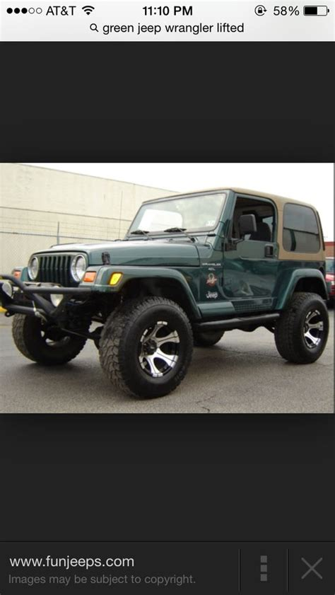 green jeep lifted green jeep wrangler lifted 2 door somethin about a jeep