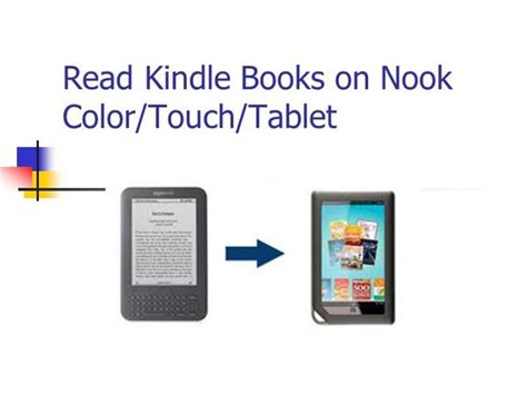 what ebook format does nook use read kindle books on nook authorstream