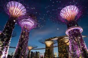 Botanic Gardens Lights Images Singapore Gardens By The Bay Nature Night Street Lights