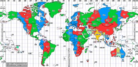 world cities time zone map utc world diphoto bloguez