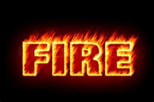 an image of the word in flames stock photo colourbox