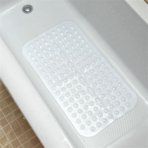 how to secure a bathtub premium non slip bathtub mats with ultra secure suction