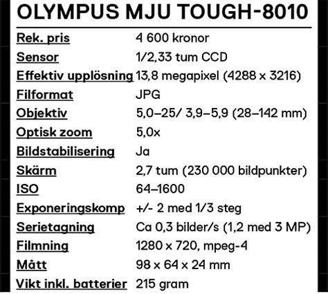 Kamera Olympus Mju Tough 8010 test olympus mju tough 8010 kamera bild