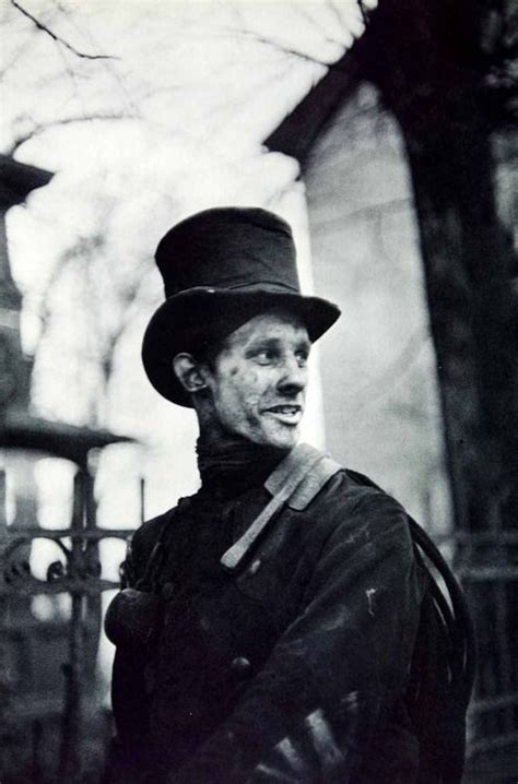 henri cartier bresson new horizons portrait of a chimney sweep in hamburg germany 1950s photo by henri cartier bresson