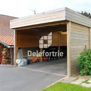 carport bois discount