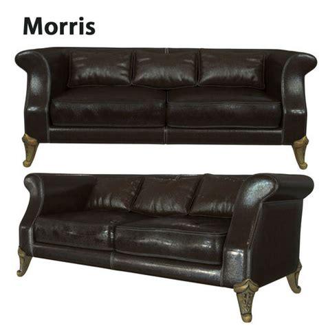 Morres Sofa by Sofa Morris 3d Model Max Obj Mtl