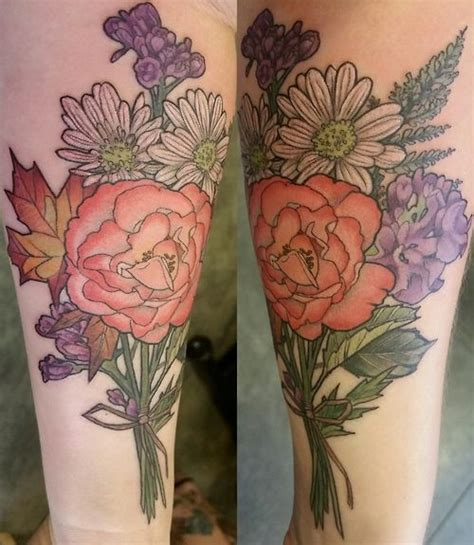 watercolor tattoos portland oregon floral bouquets bouquets and portland on