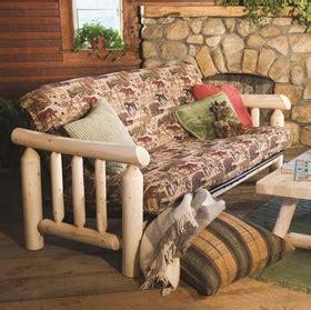 Cedar Futon by White Cedar Futon Outdoorfurnitureplus