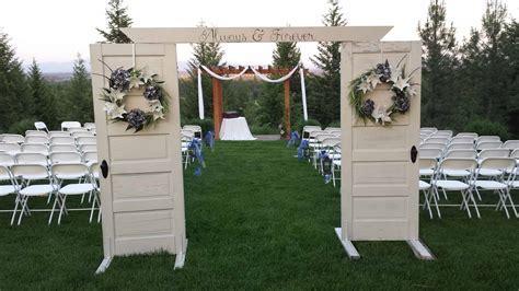 More Ridge Decor / Ceremony Entrance   Denison Ridge