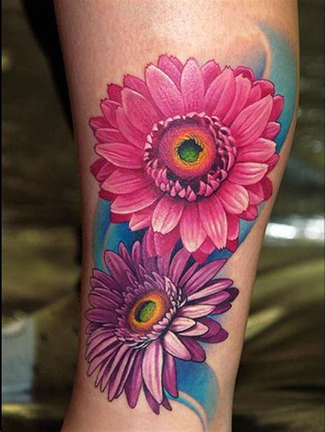 gerbera tattoo designs image result for gerbera tattoos tatto ideas