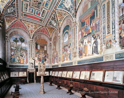 libreria piccolomini siena viaggio in italia la libreria piccolomini nel duomo di