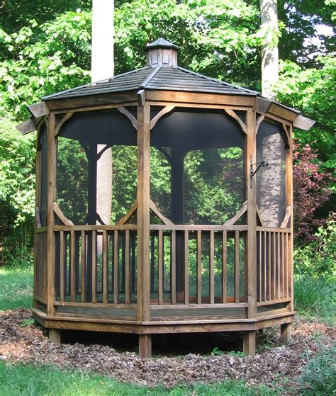 Screened Gazebo Kits Garden Screened Gazebo Kits Amazing Gazebo For Small