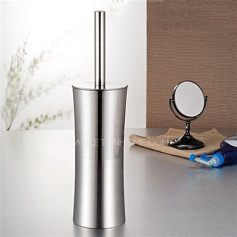 Stainless Steel Lighthouse Freestanding Toilet Brush And