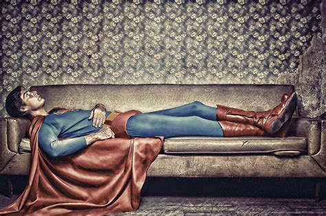 yes man dead on couch confessions of superhero by gianfranco gallo photoshop