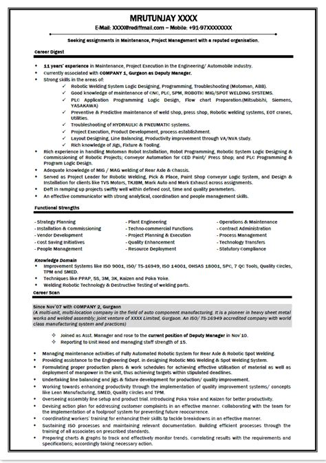 entry level automotive technician resume image search results