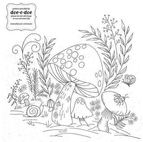 vintage patterns coloring pages 61 best images about mushroom on pinterest cartoon