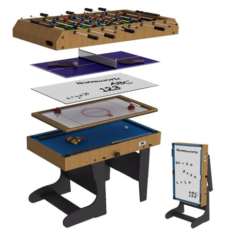 7 foot multi games table riley 4ft 12 in 1 folding multi games table m4b 1f all