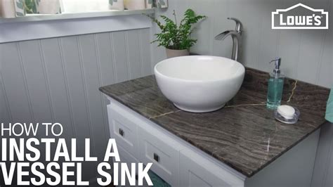 How To Install A Vessel Sink by How To Install A Vessel Sink