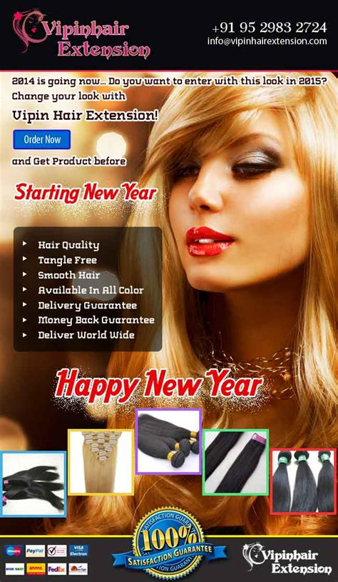 extension new year happy new year 2015 vipin hair extension